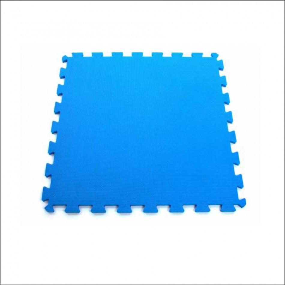 Tatame em EVA com Encaixe 1 x 1m Azul 10mm – Arktus